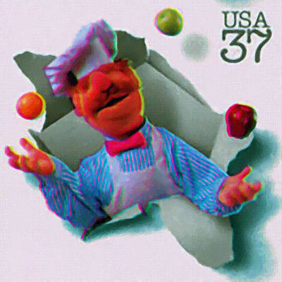 Premieres Painting - The Swedish Chef by Lanjee Chee