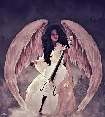 Music Of Angels Mixed Media -  Sweet Sounds Of Music 004 by G Berry