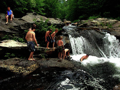 Photograph - The Swimming Hole by Wayne King