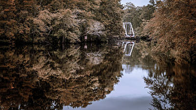 Photograph - The Swing Bridge by Van Sutherland