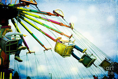 Photograph - The Swings by Kim Fearheiley