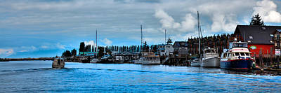 Photograph - The Swinomish Channel Panorama by David Patterson