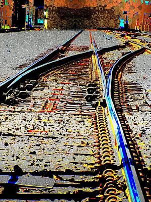 Digital Art - The Switch by Tim Allen