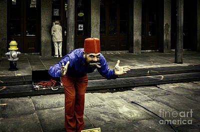 Photograph - The Sword Swallower - Nola by Kathleen K Parker