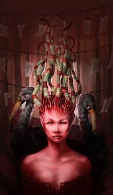 Tentacles Digital Art - The Symbolist by Ethan Harris