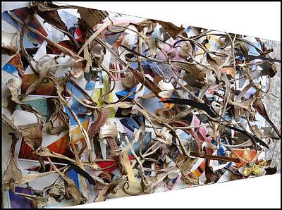 Immaterial Digital Art - The Synergies Of Recycling Wastes And Intellects #511 by Mbonu Emerem