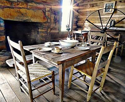 Photograph - The Table Is Set by Joe Duket