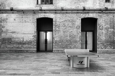 Photograph - The Table Tennis Table by Roger Lighterness