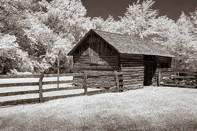 Photograph - The Tack Shed by James Barber