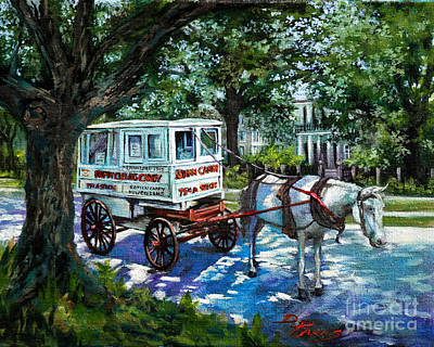 The Taffy Man Art Print by Dianne Parks