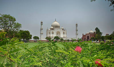 Photograph - The Taj Mahal by Chris Cousins