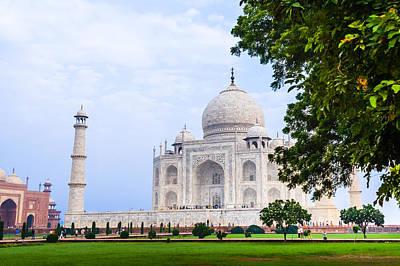 Photograph - The Taj Mahal In Agra, India by Nila Newsom