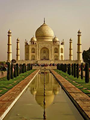 The Taj Mahal Print by Logga Wiggler