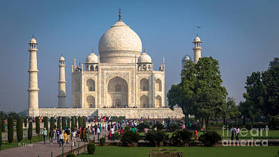 Muslims Of The World Photograph - The Taj- Up Close And Personal by Rene Triay Photography