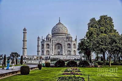 Photograph - The Taj Mahal by Rick Bragan