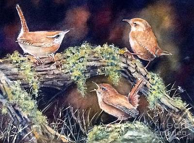 The Talk. Original by Patricia Pushaw