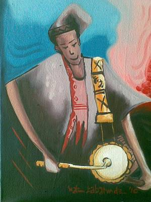 The Talking Drum Original by Olawale Babatunde