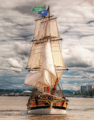 Photograph - The Tall Ship The Lady Washington by Greg Sigrist