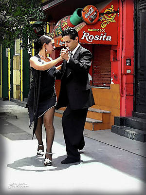 Photograph - The Tango by Joan  Minchak