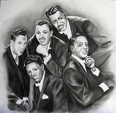 Icon Drawing - The Tantalizing Temptations by Toni  Thorne