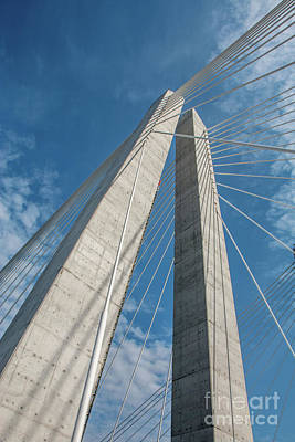 Photograph - The Tappan Zee Bridge by Mim White