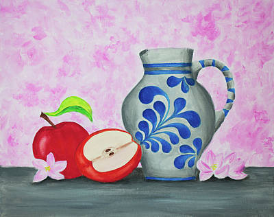 Painting - The Taste Of Blossoms by Iryna Goodall