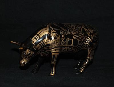 The Tattooed Cow Original by Rob Hans