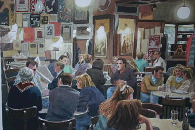 Painting - The Tavern by Joe Jaqua