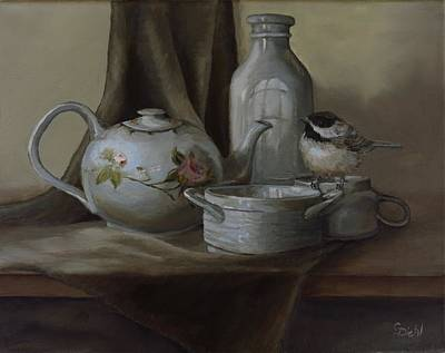 Painting - The Tea Guest by Grace Diehl
