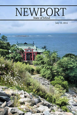 Cliff Lee Photograph - The Tea House by Robin-Lee Vieira