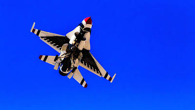 Photograph - The Team Usaf Thunderbirds by Michael Rogers