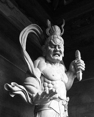Art Print featuring the photograph The Temple Guardian by Tim Ernst