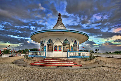 Photograph - The Temple by Nadia Sanowar