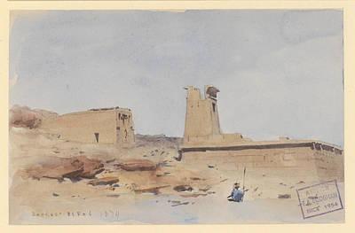 The Temple Of Dendur Showing The Pylon And Terrace Original