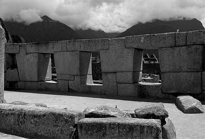 Photograph - The Temple Of The Three Windows by Lucinda Walter