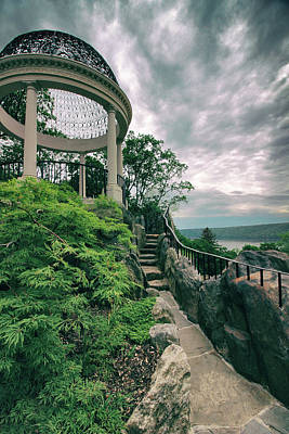 Photograph - The Temple Walkway by Jessica Jenney