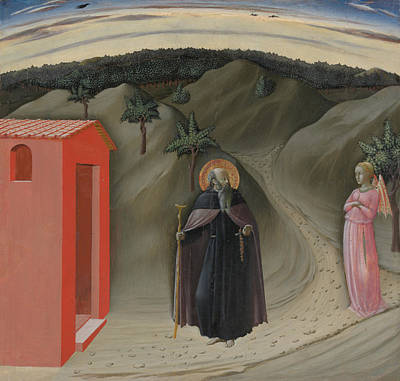 Painting - The Temptation Of Saint Anthony Abbot by Master Of The Osservanza Triptych