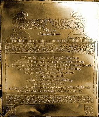 The Ten Commandments Original