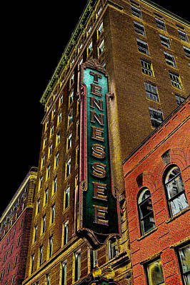 Tennessee Photograph - The Tennessee Theater In Knoxville by David Patterson