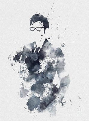 The Tenth Doctor Art Print by Rebecca Jenkins