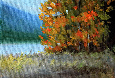 Painting - The Tenth Month by Nancy Merkle
