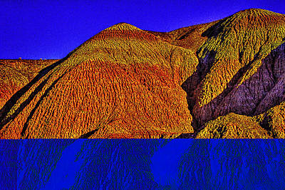 The Tepees Up Close Art Print by Roger Passman