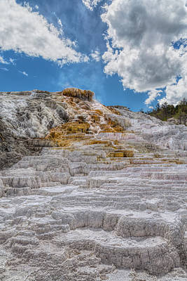 Photograph - The Terraced Palette Springs by John M Bailey
