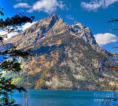 Photograph - The Teton Gem by Robert Pearson