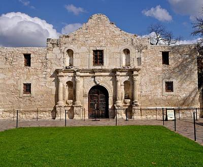 Photograph - The Texas Alamo by Kristina Deane