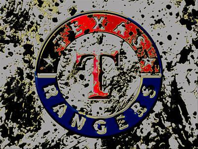 The Texas Rangers 6b Art Print by Brian Reaves