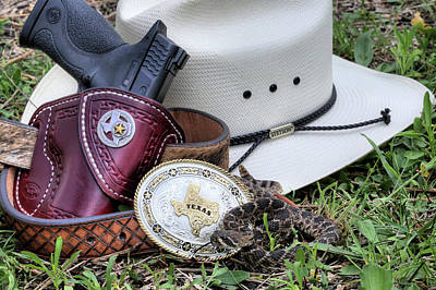 Photograph - The Texas Still Life by JC Findley