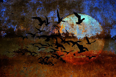 Animals Digital Art - The Texture Of Our Dreams by Ron Jones