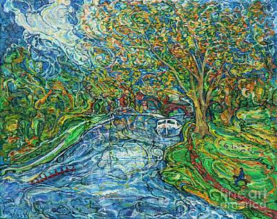 The Thames At Oxford Art Print