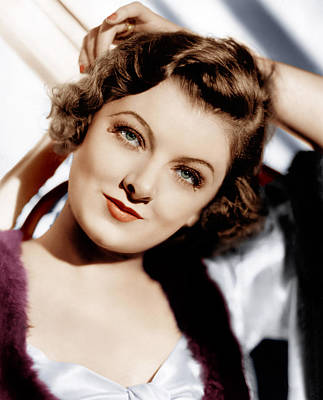 Loy Photograph - The Thin Man, Myrna Loy, 1934 by Everett